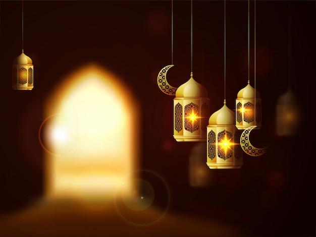 Islamic festival of sacrifice, eid-al-adha background.