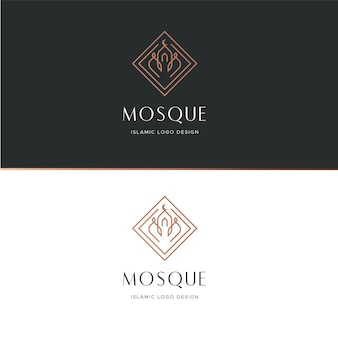 イスラムのロゴのコンセプト