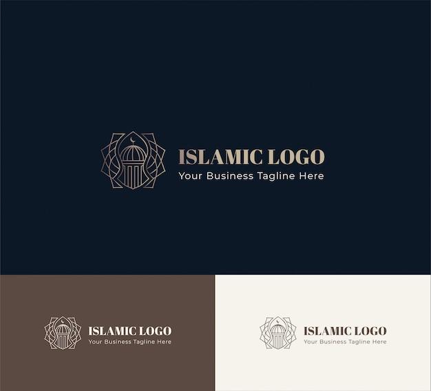 Исламский логотип геометрический