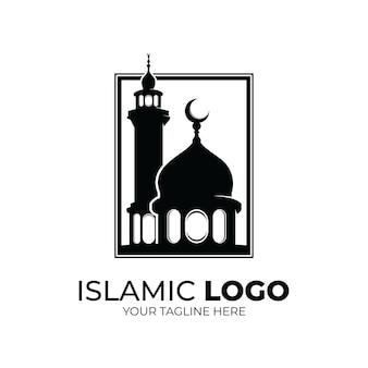イスラムのロゴ-モスクのロゴデザインのインスピレーション