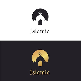 Modello di logo islamico