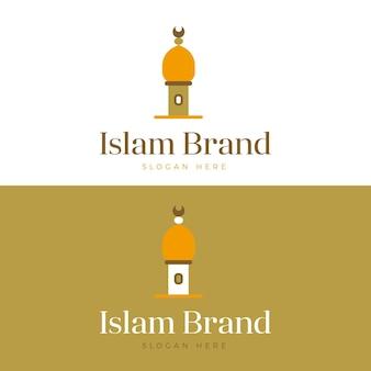 Исламский шаблон логотипа