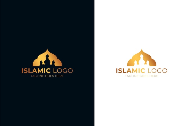 Islamic logo in two colors