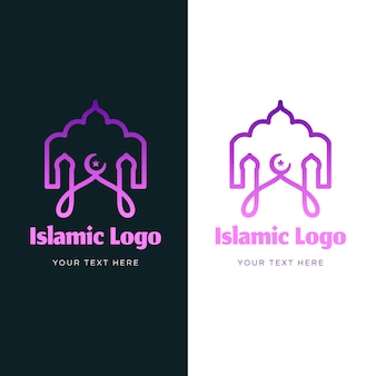 Logo islamico in due colori