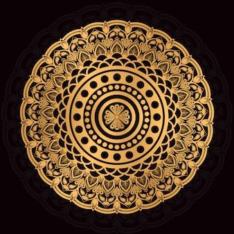 Islamic luxury arabesque mandala