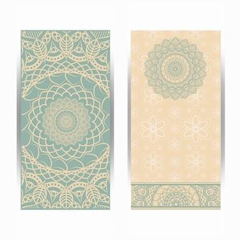 Islamic mandala card set
