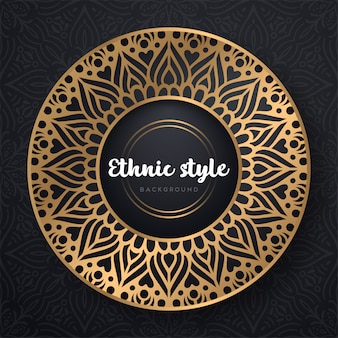 Islamic mandala design
