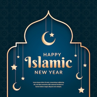 Islamic new year celebration