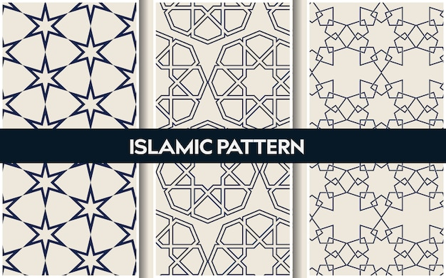 Islamic oriental patterns , seamless arabic geometric pattern