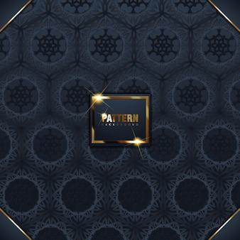 Islamic ornament   3d ramadan islamic round pattern