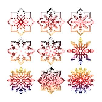 Islamic pattern ornament