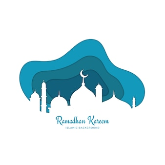 Islamic ramadhan background
