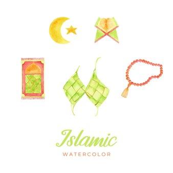 イスラム水彩画