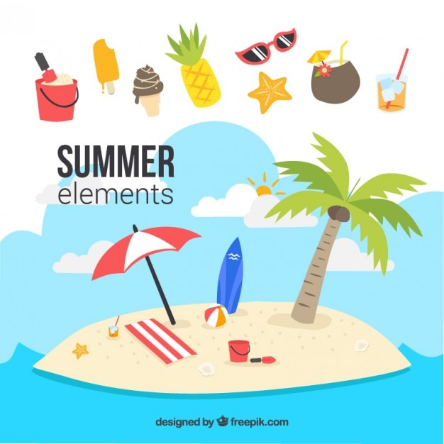 beach vectors photos and psd files free download rh freepik com beach vector art beach vector free download