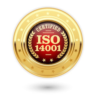 Медаль, сертифицированная по стандарту iso 14001