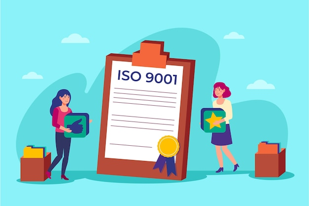 Iso certification illustration