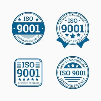 Коллекция штампов сертификации iso