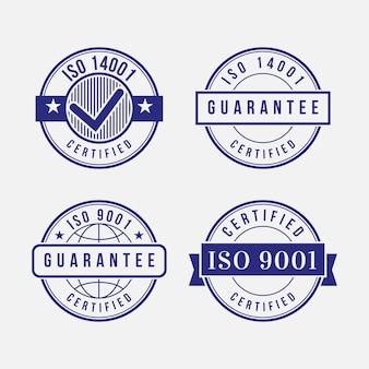 Набор штампов сертификации iso