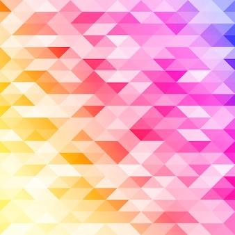 孤立した抽象的なカラフルなlowpolyデザインの背景。