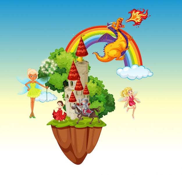 An isolated fairytale land