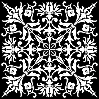 Isolated floral pattern, element for design, vector illustration