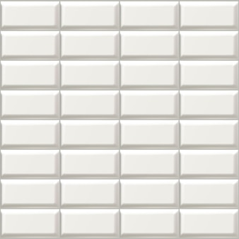 Isolated icon illustration of white bathroom tiles.