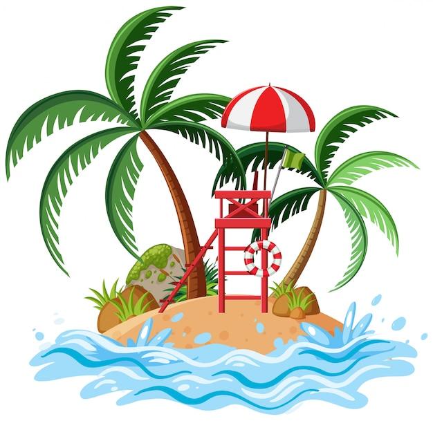 Isolated island