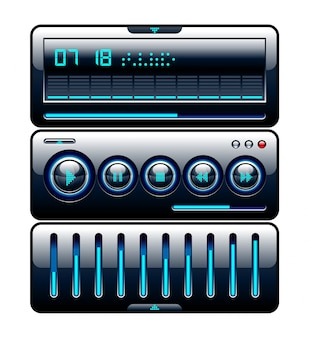Isolated music controller