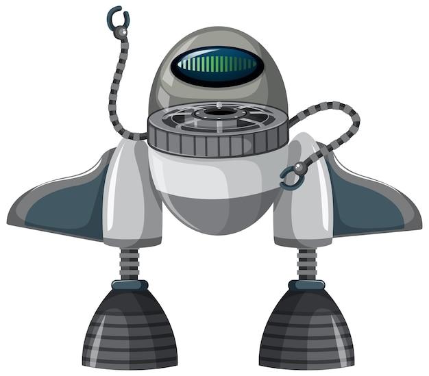 Изолированные космическая ракета мультфильм