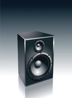 Isolated speaker design