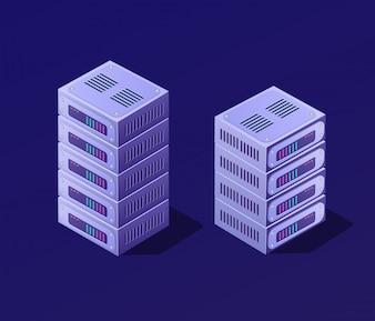 Isometric 3D set blockchain