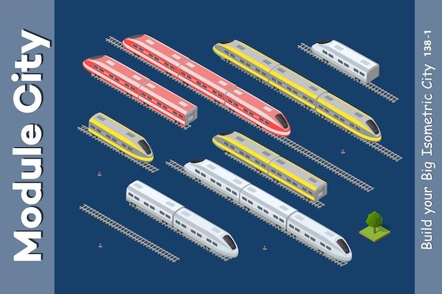 Изометрический 3d транспорт