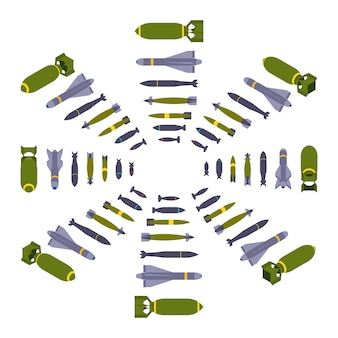 Isometric air bombs