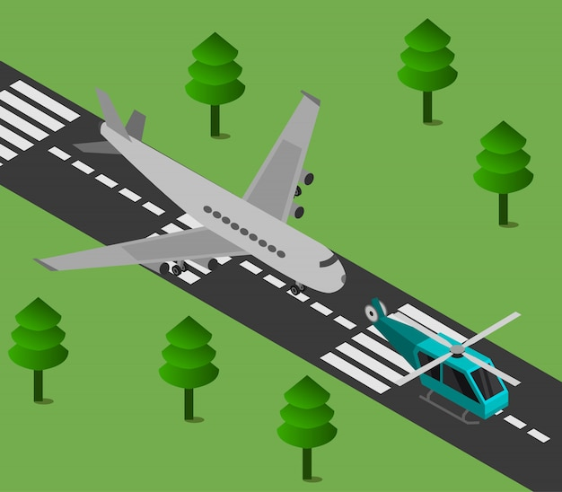 Изометрический аэропорт