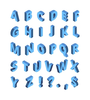 아이소메트릭 알파벳입니다. 선 색 문자 기하학적 하프톤 글꼴 벡터 인쇄 술 세트입니다. 알파벳 타이포그래피 아이소메트릭 문자, 그래픽 abc 조판 원근 그림