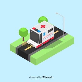 Isometric ambulance concept