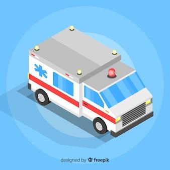 Изометрическая конструкция скорой помощи