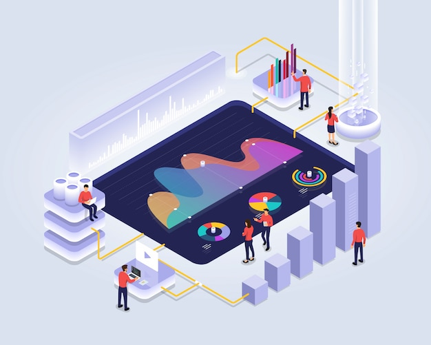 Isometric analyzing statistics