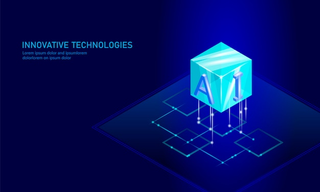 Isometric artificial intelligence business