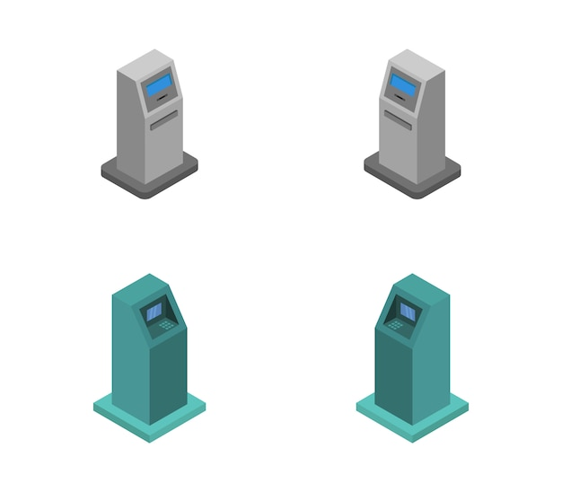 Isometric atm set
