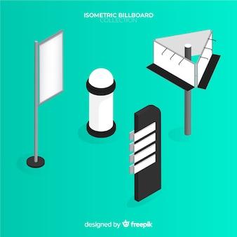 Isometric billboard collection