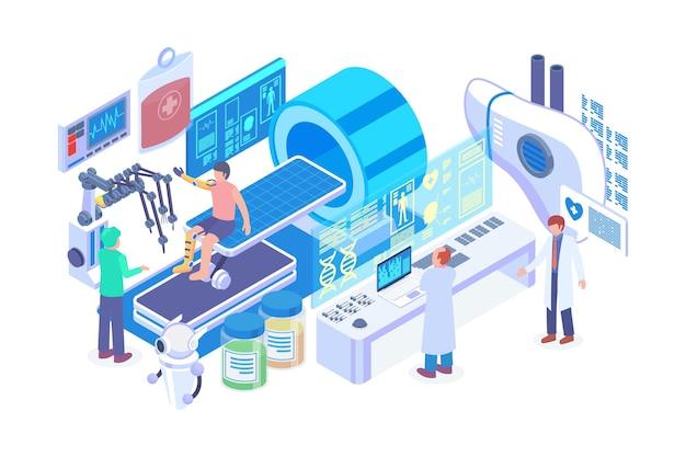 Isometric bionic human organ vector concept