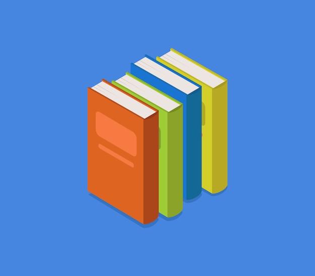 Isometric book
