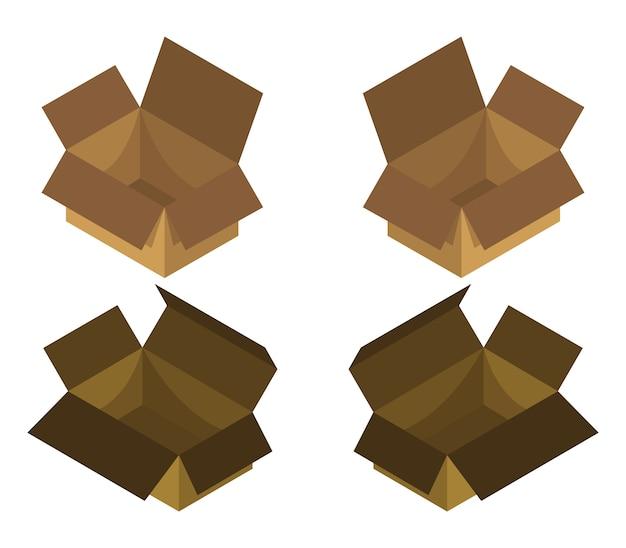 Isometric box set
