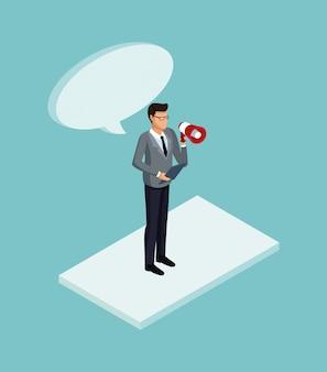 Isometric business avatars