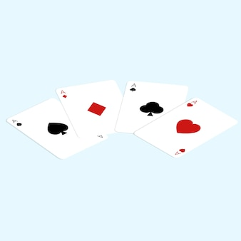 Isometric card game vector