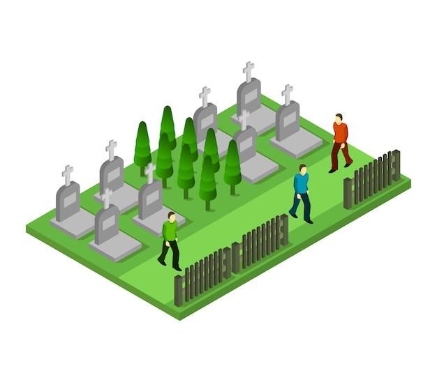 等尺性墓地