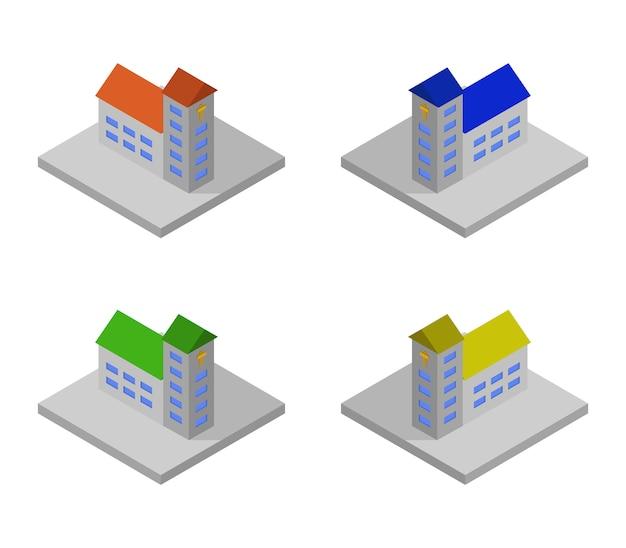 Isometric churches set