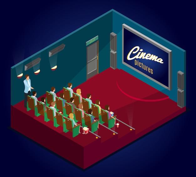 Isometric cinematography concept
