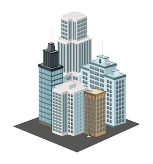 아이소 메트릭 도시 아이콘